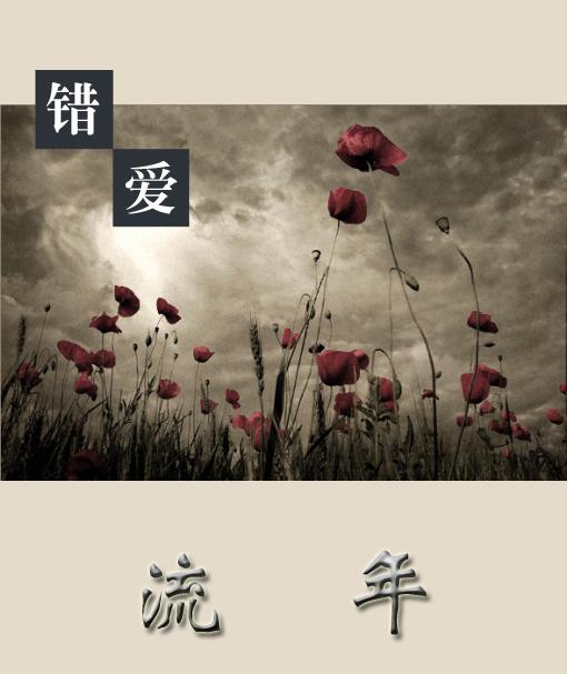错爱流年,心为谁碎 配乐:风云榜 作者:紫檀情缘