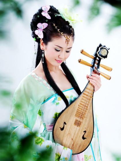 【人物】古典美女素材《蝶恋花》