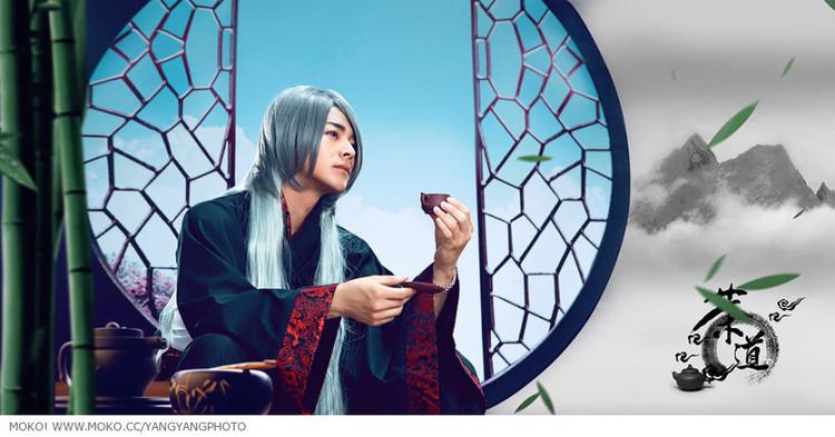 【人物】中国风人物写真《茶道》&《问道》