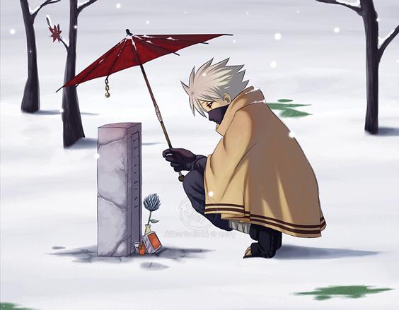 火影忍者插曲《孤独》艺术家:佐藤柚木子