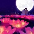 【现代诗歌】《露凝眸》——月光恋人 文/燚冰