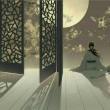 【现代诗歌】梦中的昆仑月 诗文/冰山雪莲